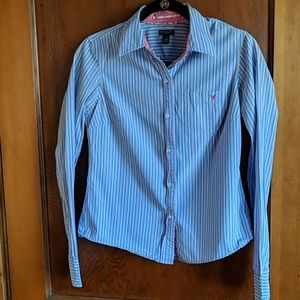 American Eagle fitted LS top